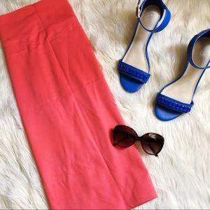 🎀FINAL PRICE DROP🎀 Coral pencil skirt